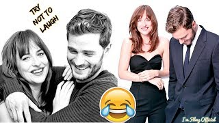 Download Fifty Shades Freed Bloopers and Funny Moments(Part-2) - Try Not To Laugh Video