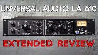 Download Universal Audio LA-610 Review by Alex Scott Video