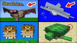 Download NEW Mobs Added in Minecraft 1.13 Update Video
