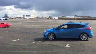 Download Mustang vs Focus RS drift battle Video