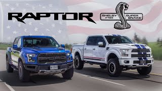 Download 2017 Ford Raptor vs 700hp Shelby F150 Review - American Legends Video