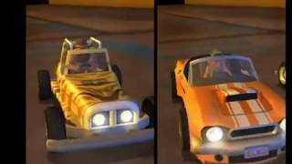 Download Micro Machines: PS2 Video Game Preview Footage Video