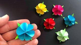 Download Basteln mit Papier: Blume als Geschenk selber machen 🌸 Origami 🌸 Bastelideen Video