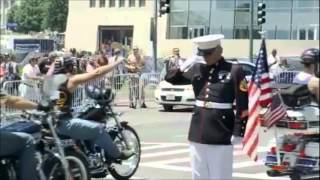 Download For The Saluting Marine Video