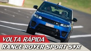 Download LAND ROVER RANGE ROVER SPORT SVR - VOLTA RÁPIDA COM RUBENS BARRICHELLO #58 | ACELERADOS Video