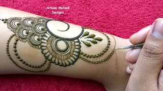 Download New Easy Beautiful Mehndi Design for Hand || EID 2019 Special Mehndi Design || Arham Mehndi Designs Video
