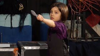 Download Youngest Professional Knife Thrower Video