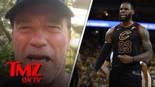 Download LeBron James Turns Hollywood Upside Down!   TMZ TV Video