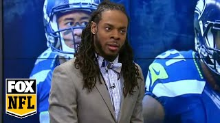 Download Richard Sherman goes 1-on-1 with Randy Moss Video