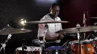 Download Larnell Lewis demos Evan Drum Heads Video