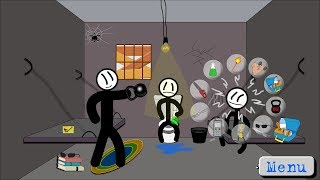 Download Stickman jailbreak 5 (by Starodymov games) / Android Gameplay HD Video