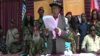 Download Dili, Eis Komandante Brigada Vermelha Mauk Moruk bolu atensaun ba Governu Part I Video