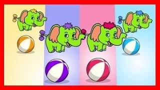 Download Piosenki dla dzieci Cztery słonie zielone słonie BZYK.tv Video