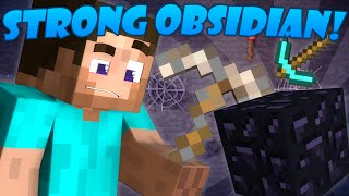 Download Why Obsidian is Strong - Minecraft Video