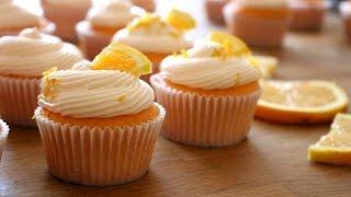 Download Orange Creamsicle Cupcakes Recipe | sweetco0kiepie Video