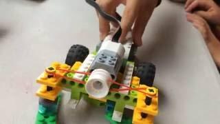 Download LEGO WeDo 2.0 Floor Sweepers, Frog, Fish & Floodgates at Robotics Camp! Video