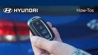 Download How to Unlock and Open the Liftgate | Hyundai Video