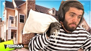 Download LEARNING How To BREAK INTO a HOUSE! (Thief Simulator) Video