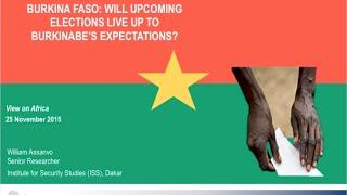 Download Des attentes élevées pour les prochaines élections au Burkina Faso Video