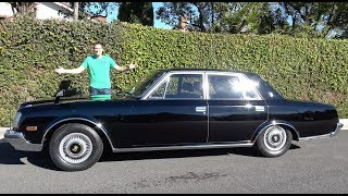 Download The 1990 Toyota Century Is a Japanese Rolls-Royce Video
