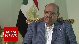 Download Sudan President Omar al-Bashir 'to stand down in 2020' - BBC News Video