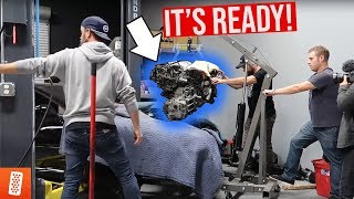 Download THE TWIN TURBO 6G72 ENGINE IS IN!!!! (READY FOR +500HP?) Video