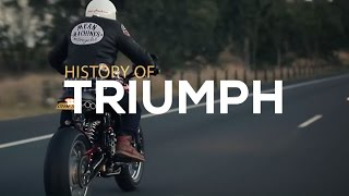 Download History of Triumph Motorcycles | Motorcycle Diaries Video