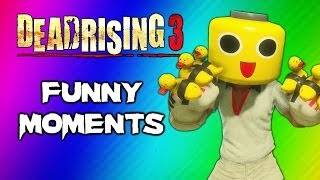 Download Dead Rising 3 Funny Moments Gameplay 3 - Invisible Zombie Glitch, Duck Gloves, Party Slapper Fun Video
