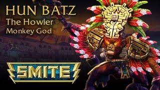 Download SMITE God Reveal - Hun Batz, The Howler Monkey God Video