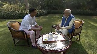 Download Akshay Kumar interviews Narendra Modi on things other than politics Video