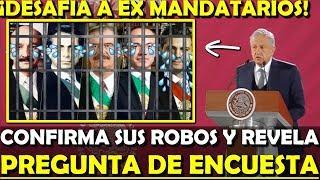 Download ¡NO SE SALVAN! AMLO SE LA CANTA A SALINAS ZEDILLO FOX CALDERON Y PEÑA - ESTADISTICA POLITICA Video