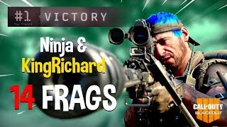 Download Ninja & KingRichard Run Blackout Duos!! 14 Frags - COD Black Ops 4 Blackout Gameplay Video
