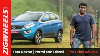 Download Tata Nexon | Petrol and Diesel | First Drive Review | ZigWheels Video