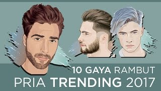 Download Gaya Potongan Rambut Pria 2017 Video