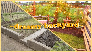Download Transforming this space into a ~dreamy backyard~ Video
