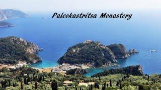 Download Paleokastritsa Monastery (Panagia - Virgin Mary - Theodokus Monastery), Corfu, Greece Video