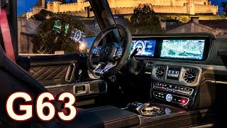 Download 2019 Mercedes-AMG G63 - INTERIOR (585 hp) Video