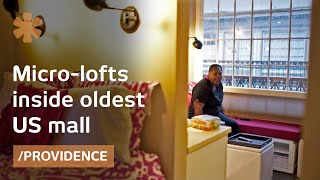 Download Oldest US mall blends old/modern with 225-sq-ft micro lofts Video