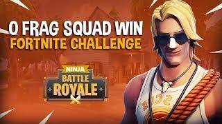 Download 0 Frag Squad Win Challenge!! - Fortnite Battle Royale Gameplay - Ninja Video