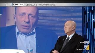 Download Otto e mezzo - Gentiloni, Padoan o Renzi? (Puntata 09/12/2016) Video