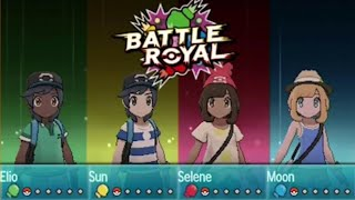 Download Pokemon Sun and Moon Battle Royal Gameplay - E3 2016 Video