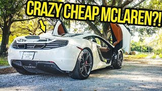 Download Here's Why A Cheap Used Mclaren 12C Is BETTER Than ANY New Supercar (OR IS IT?!) Video
