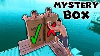 Download DONT Push The Wrong MYSTERY BOX OFF The 12 FOOT DOCK! (INTO WATER) Video