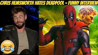 Download Chris Hemsworth Hates Deadpool - Thor: Ragnarok Funny Interview - 2017 Video