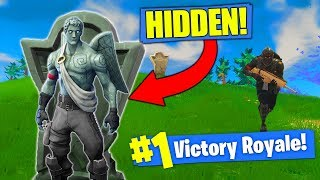 Download THE INVISIBLE GARGOYLE STRATEGY In Fortnite Battle Royale! Video