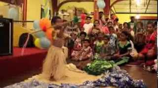 Download 2 year Old Fijian Boy performing a Fijian Warrior Dance infront of 500 people for the first time Video
