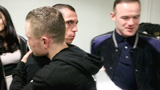 Download UNSEEN! - CARL FRAMPTON & SCOTT QUIGG EMBRACE IN DRESSING ROOM AFTER THEIR FIGHT (WITH WAYNE ROONEY) Video