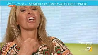 Download Alessandra Mussolini (FI) vs Cazzola: 'Salvini mi piace tanto, posso dirlo?', 'Io mi vergogno' Video