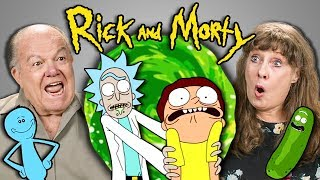 Download ELDERS REACT TO RICK AND MORTY Video