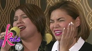 Download Kris TV: 'Through The Fire' singing showdown with Karla and K Video